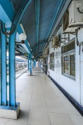 Fototapeta Platforma metra