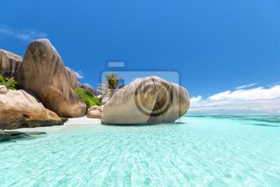 Plaża Anse Source d'Argent, wyspa La Digue, Seyshelles