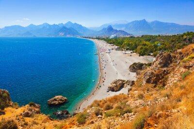 Fototapeta Plaża w Antalya Turcja
