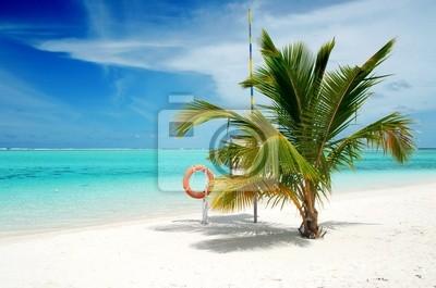 Fototapeta Plaża w Malediwach