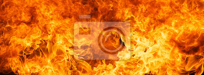 Fototapeta płomień blaze tekstury