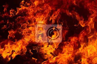 Fototapeta płomień ognia płomień tekstura tło