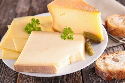 Fototapeta Płyta z serem