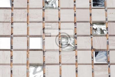Płytek Tekstury Mozaiki Tekstury Mozaiki łazienki Na Podłodze Fototapety Redro