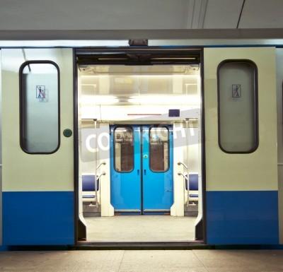 Fototapeta Pociąg metra