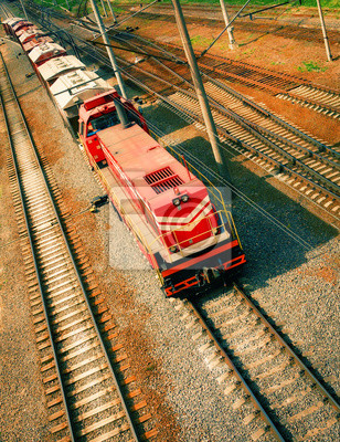 Pociąg towarowy