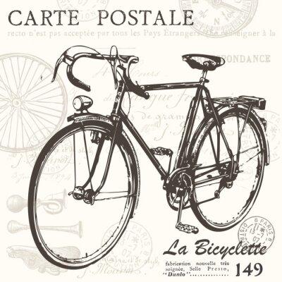 Fototapeta Pocztówki rowerów