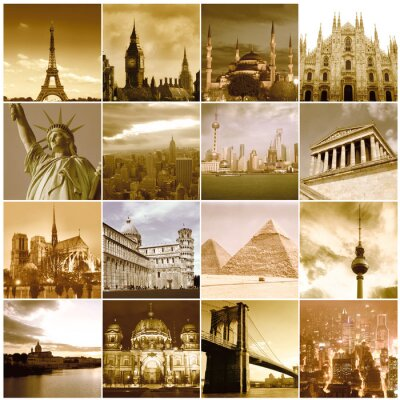 Fototapeta Podróż dookoła świata