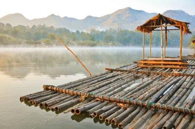 Fototapeta podróżować do Kwai noi rzeki, Kanchanaburi, Tajlandia