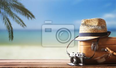 Fototapeta Podróżując w tle