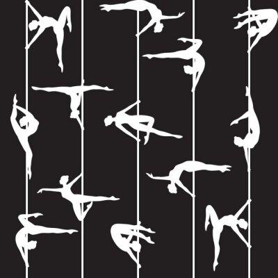 Fototapeta pole dancer