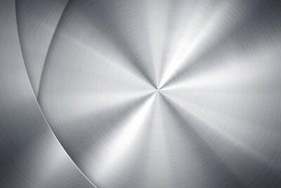 Fototapeta polerowanego metalu wzór tła