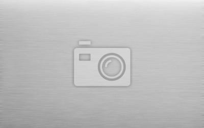 Fototapeta polished aluminum background. Metal texture