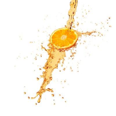 Fototapeta pomarańczowy