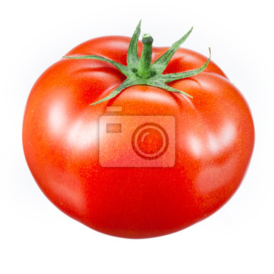 Fototapeta pomidorów na białym tle