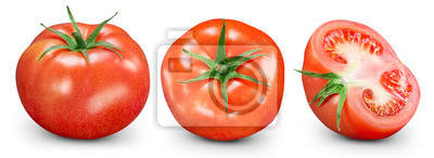 Fototapeta Pomidory na białym tle