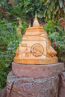Pomnik na Złotej Góry w Bangkoku