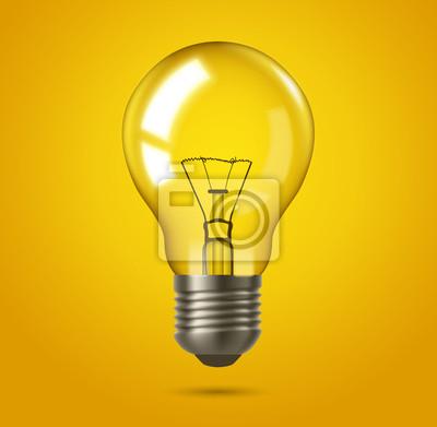 Fototapeta Pomysł lampa