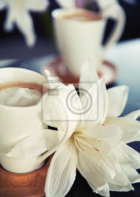 Porcelanowe kubki kawy