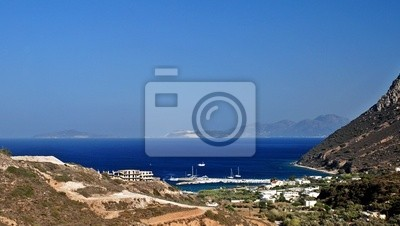 Fototapeta Port na greckiej Kos islad