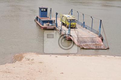 Port z rzeki Mekong