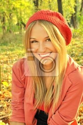 Portret dziewczyny Autumn