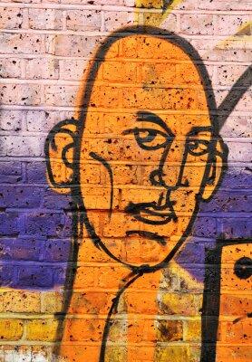 Fototapeta Portret Graffiti