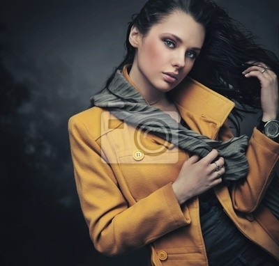 Portret młodej damy spokój