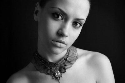 Fototapeta Portret piękna dziewczyna.