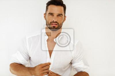 Fototapeta Portret przystojny mężczyzna