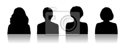 Fototapeta portrety kobiet sylwetka id zestaw 1