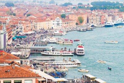Fototapeta portu w Wenecji, Włochy