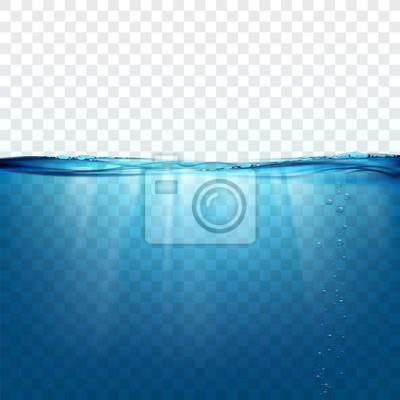 Fototapeta Powierzchnia fali wodnej