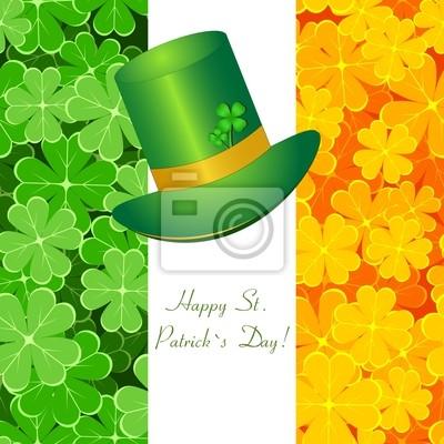Powitanie St / Patrick card