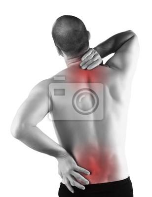 Fototapeta powrót poważny ból