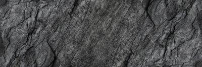 Fototapeta poziomy czarny kamień tekstury dla wzoru i tła