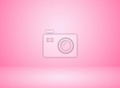 Fototapeta Pracownianego pokoju wnętrza menchii koloru tło z oświetleniowym skutkiem.