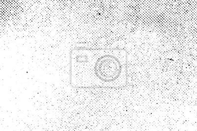 Fototapeta Prawdziwy organiczny rocznika grunge półtonów wektora tło z tuszem do druku