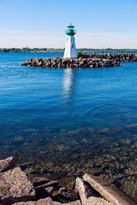 Fototapeta Prescott Heritage Harbour Lighthouse