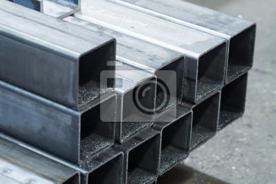 Fototapeta pręty ze stali węglowej