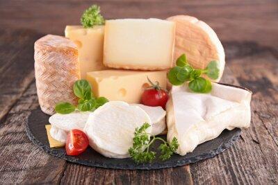 Fototapeta produkt mleczny, świeży ser