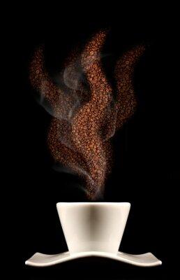 Fototapeta Profumo di caffè caldo