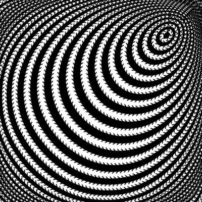 Fototapeta Projekt iluzję ruchu monochromatyczne tło wir