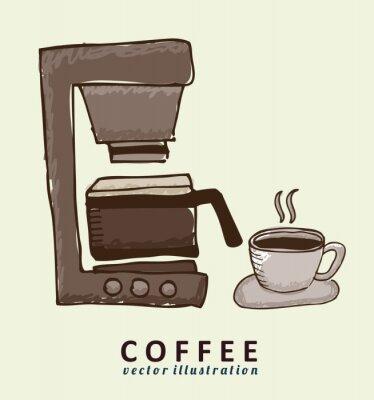 Fototapeta Projekt kawy