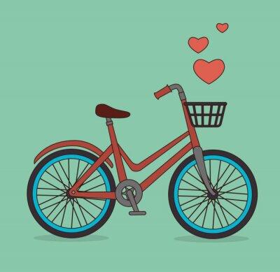 Fototapeta Projekt rowerów.