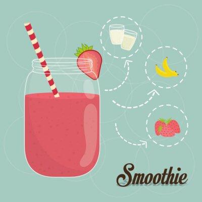 Fototapeta Projekt smoothie.