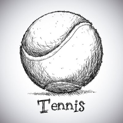 Fototapeta projekt tenis