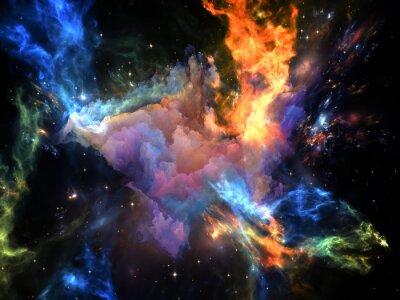 Fototapeta Przyspieszenie kosmosie