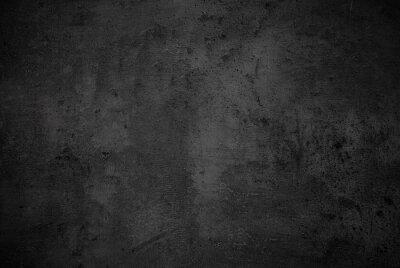 Fototapeta Pusty czarny kamień tekstury powierzchni betonu