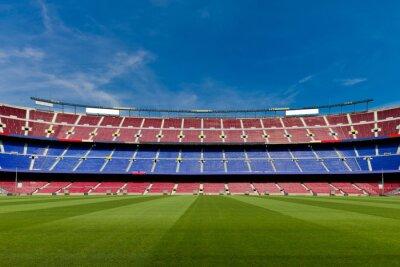 Fototapeta Pusty stadion piłkarski